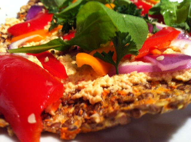 Crispy Carrot Crust Pizza: Part 1 | kale and kass (with a side of sass ...